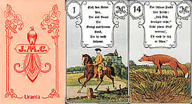 Rote Eule Lenormand